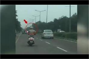 chandigarh traffic police cut the challan of punjab police employee