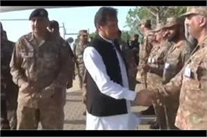 imran khan visits loc briefed on ongoing situation