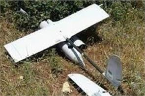 israeli army drone crashes in gaza