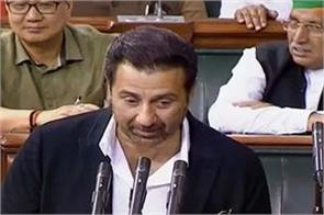 sunny deol went to parliament 9 days out of 37