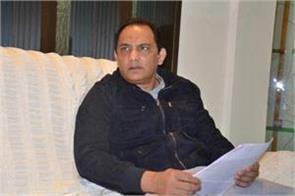 azharuddin filed nomination for the post of hca president