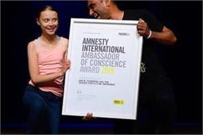 climate striker greta thunberg wins  alternative nobel prize