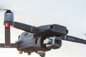 drone carrying weapons from pakistan found in godown