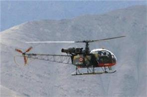 an indian army cheetah helicopter crashed in bhutan sources