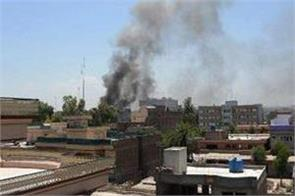 suicide bomb targets government office in east afghanistan