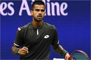 sumit nagal at career best 174th atp rankings