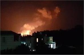 blasts rock cyprus ammunition depot some slightly injured