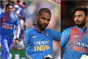 dhawan pant and saini will be available for delhi in vijay hazare trophy