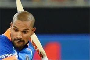shikhar dhawan make fifty but india a lost match