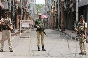 fresh ban imposed many parts kashmir life affected 54th day