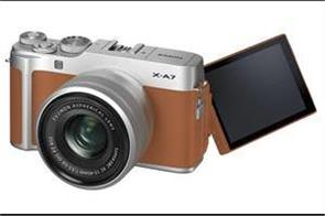 fujifilms entry level x a7 comes with 4k video