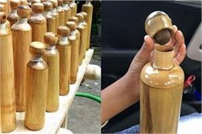 now drink water in bamboo bottle not plastic will be launched soon