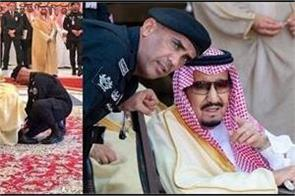 saudi king s bodyguard shot dead seven others wounded