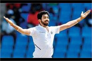 icc test rankings fast bowler bumrah returns to top 10 india remains on top