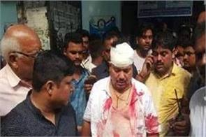 bjp mp gets head injury during skirmish in bengal