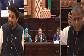 pakistan raises kashmir at global meet on environment india hits back