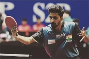 sathiyan becomes 2nd indian to reach quarterfinals of the asian championship