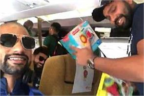 video rohit bought toys for daughter dhawan saw pinched