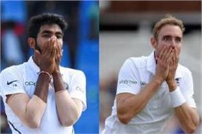 stuart broad gets heavy on bumrah indian fans remind yuvraj s innings