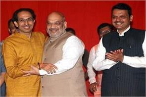 maharashtra assembly elections talks on sharing of seats between bjp shiv sena