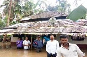 krishna river again in spate flood threat looms in north karnataka