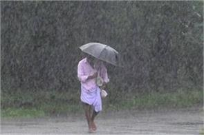 officially the monsoon departed the highest rainfall since 1994