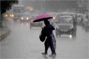 rainfall continues in many parts of rajasthan red alert in four districts