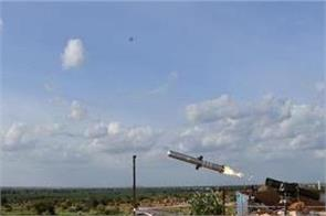 india successfully tests portable anti tank guided missile