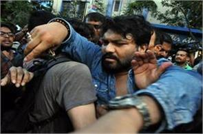 protesting student s mother apologizes to supriyo what bjp mp says in response