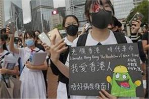 students boycott classes in hong kong china warns