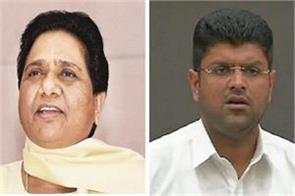bsp jjp alliance broken in haryana mayawati told that reason