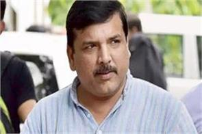 aap leader sanjay singh claims indigo stopped from boarding