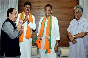 former sp leaders nagar and seth bjp candidates in rajya sabha by election