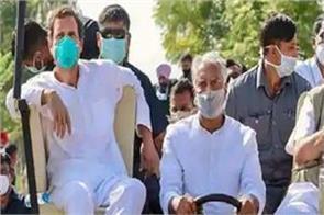 rahul gandhis rally as ministers mock cushioned sofa of vip kisan