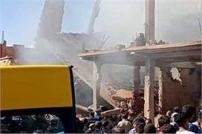 5 dead 16 injured in gas explosion in nw algeria