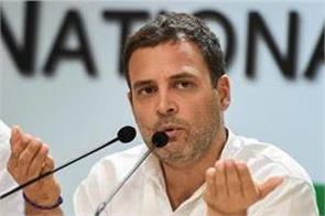 rahul gandhi s charge  up government failed to stop the