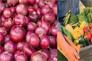 onion rates are tearing down vegetable prices hurt