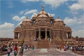 delhi akshardham temple open on october 13