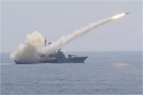 indian navy anti ship missile showed strength