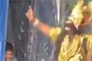 national news social media video viral ramleela ravana