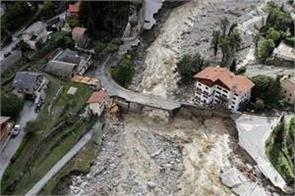 severe flooding hits italy and france 7 killed many missing after