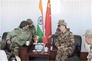 east ladakh dispute corps commander level talks on 12 october