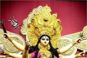 12 feet tall maa durga statue made in kolkata