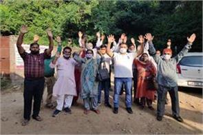 samba sarpanch s boycott back to village