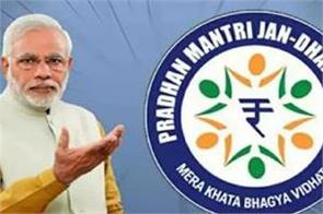 55 of pradhan mantri jan dhan yojana account holders