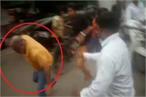 toy factory blast local people run and beat the congress leader