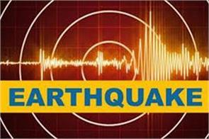 two earthquake tremors at different times in ladakh