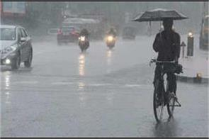 26 year record of broken temperature in delhi rain in many states today
