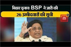 bsp released first list of 26 candidates
