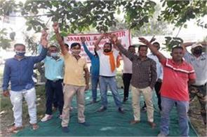 the struggle of temporary workers of pwd continues